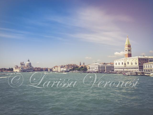 Italien, Veneto, Venedig, Anfahrt auf San Marco